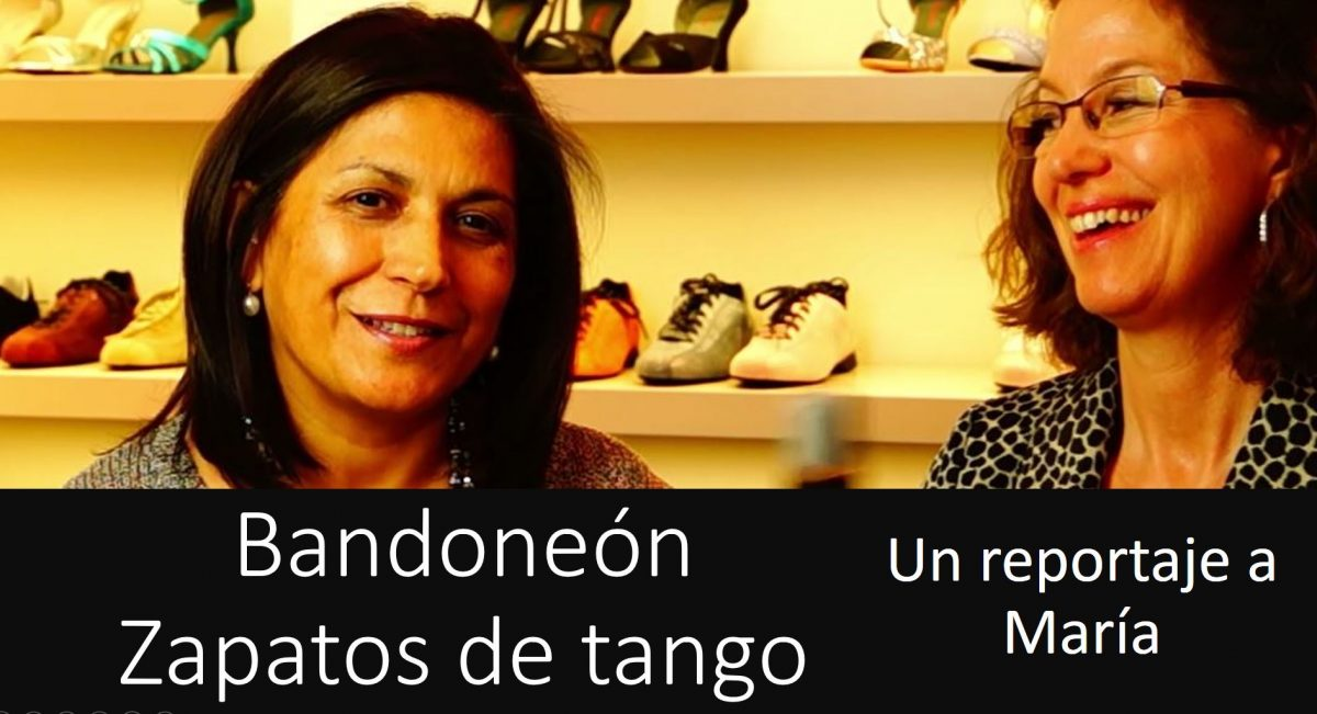Bandoneón – la tienda de zapatos de tango de María en Düsseldorf
