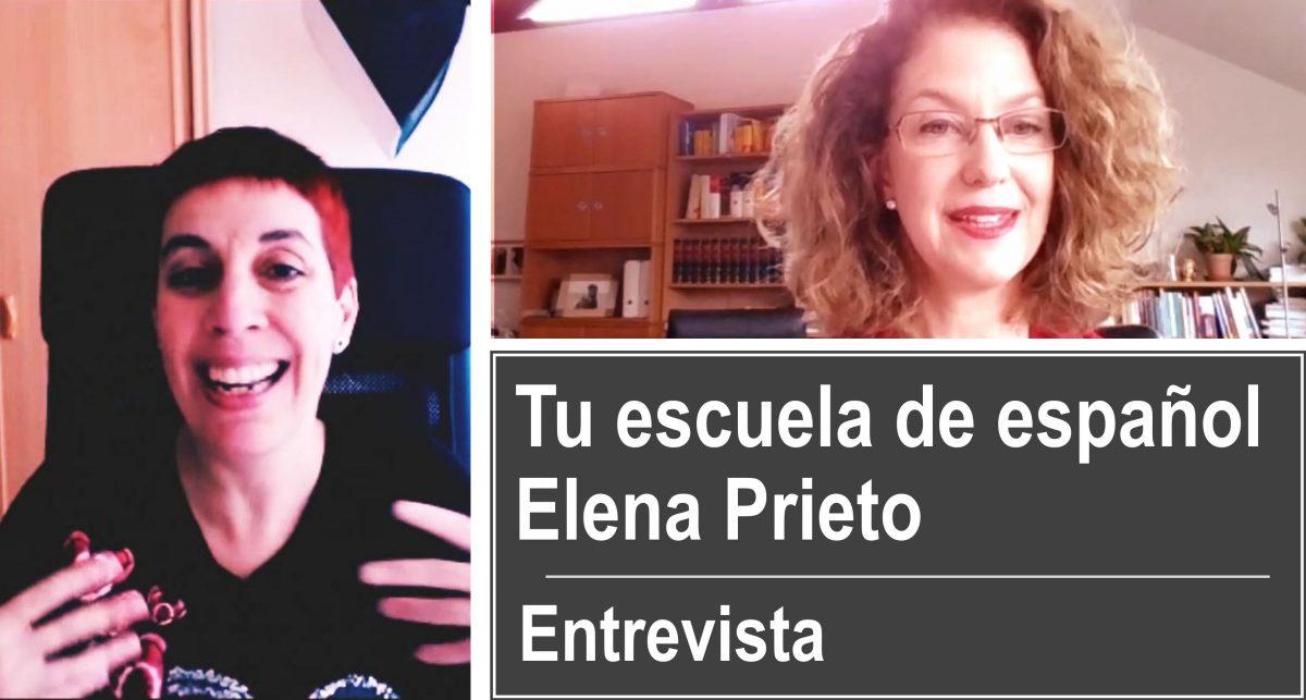 Entrevista a Elena Prieto, la creadora de Tu escuela de español