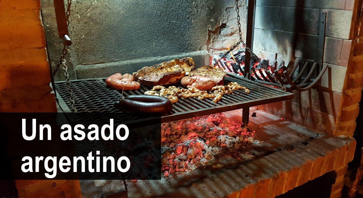 Un asado argentino