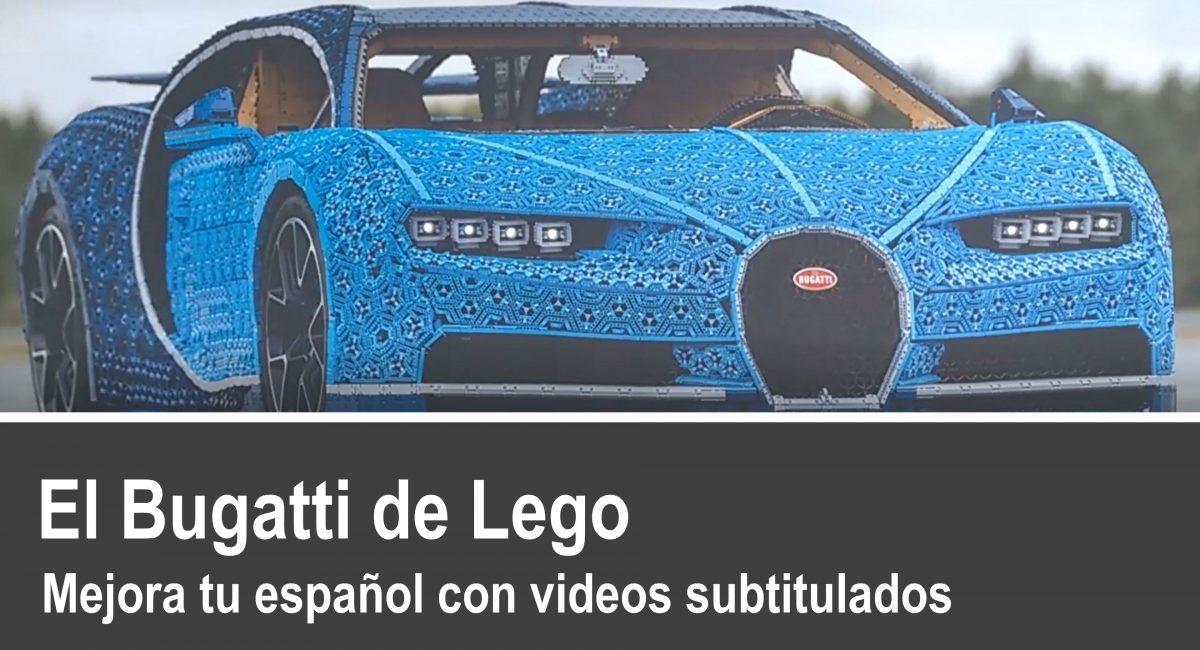 Español fácil: La réplica del Bugatti Chiron fabricada con piezas de Lego