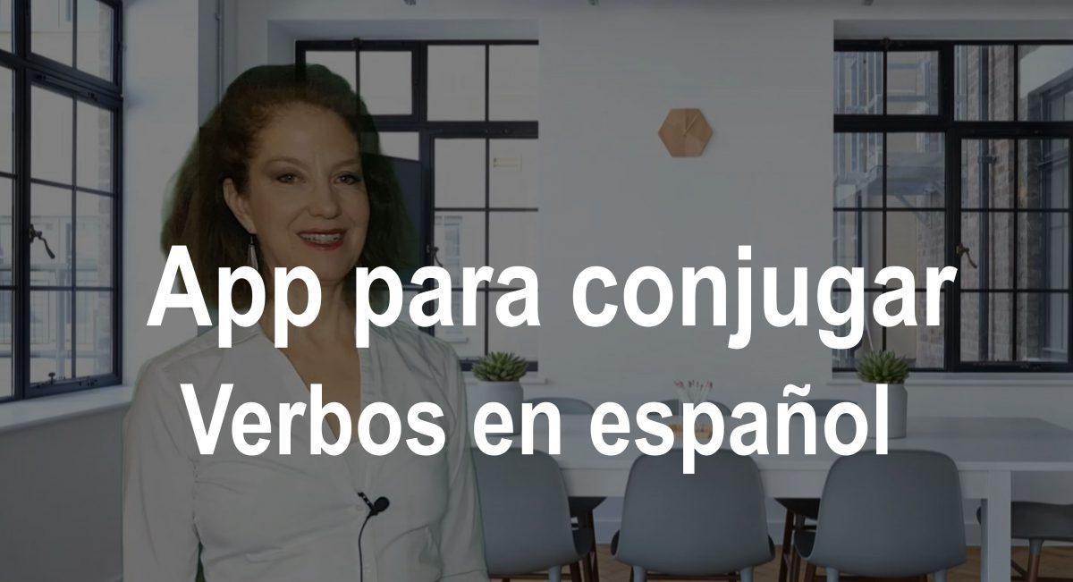 App para conjugar verbos en español