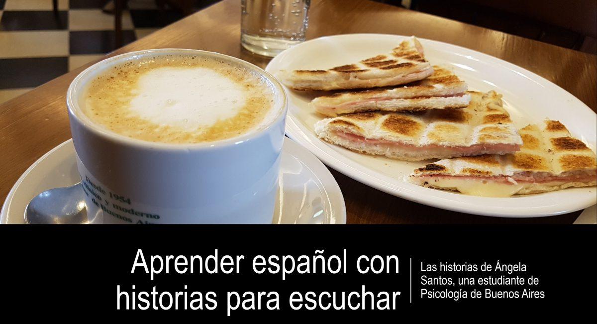 Podcast para aprender español con historias – Ángela Santos – episodio N° 1