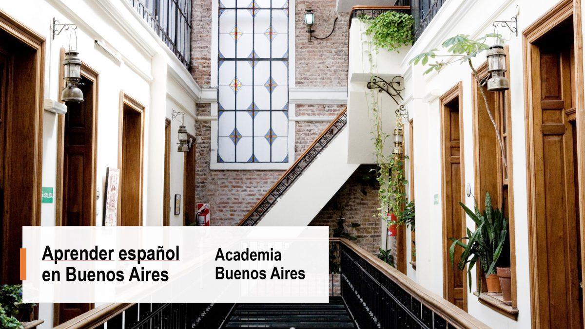 Aprender español en Buenos Aires: Academia Buenos Aires