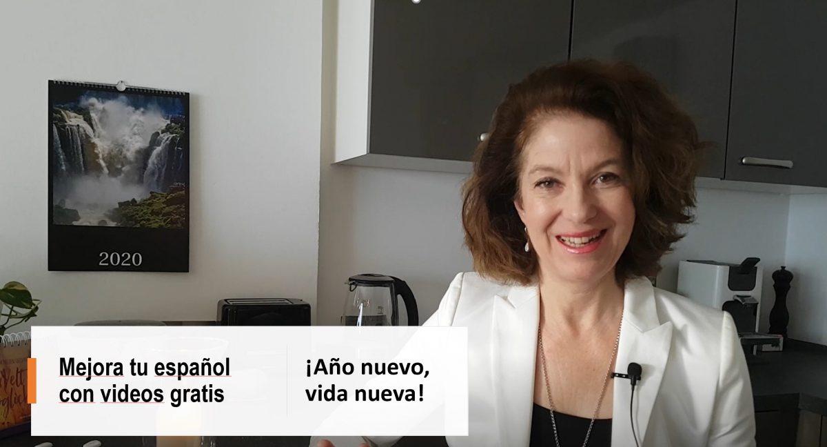 Mejora tu español con videos gratuitos: ¡Año nuevo, vida nueva!