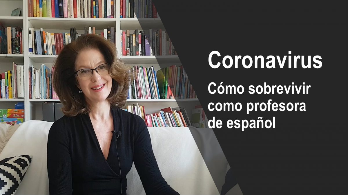 Coronavirus: cómo sobrevivir como profesora de español