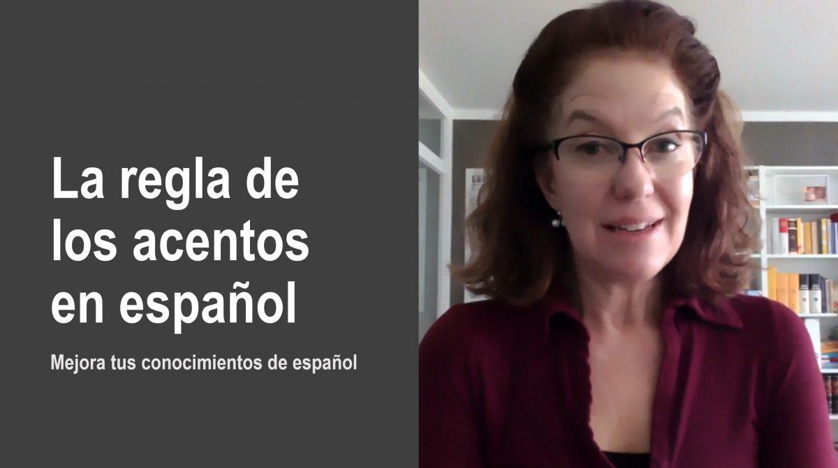 Mejora tus conocimientos de español: la regla de los acentos