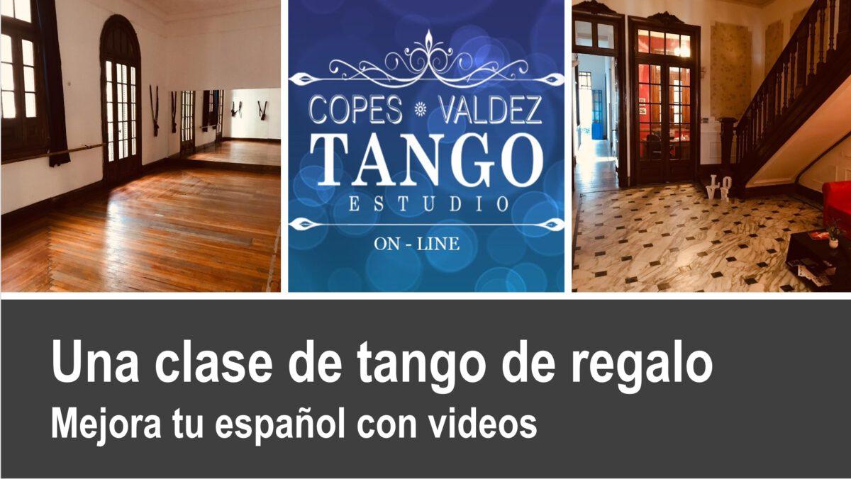 Mejora tu español con videos: Una clase de tango de regalo