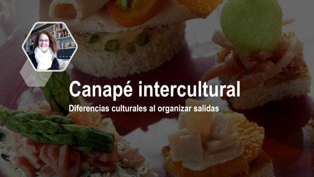 Canapé intercultural: Diferencias culturales al organizar una salida
